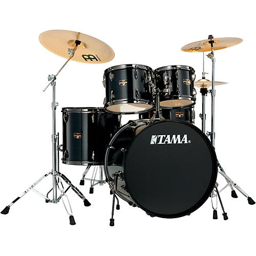 Tama Imperialstar 5-Piece Drum Set with Black Nickel Hardware