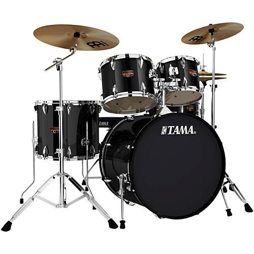 Tama Imperialstar 5-Piece Drum Set with Cymbals Black