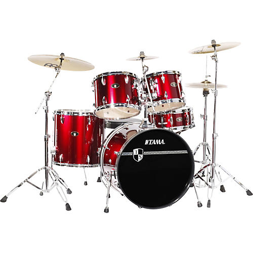 Tama Imperialstar 5-piece Standard Drum Set with Cymbals-thumbnail