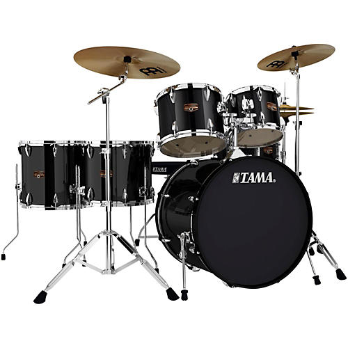 Tama Imperialstar 6-Piece Drum Set with Cymbals Black