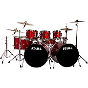 Tama Imperialstar 8-Piece Double Bass Drum Set with Meinl HCS Cymbals