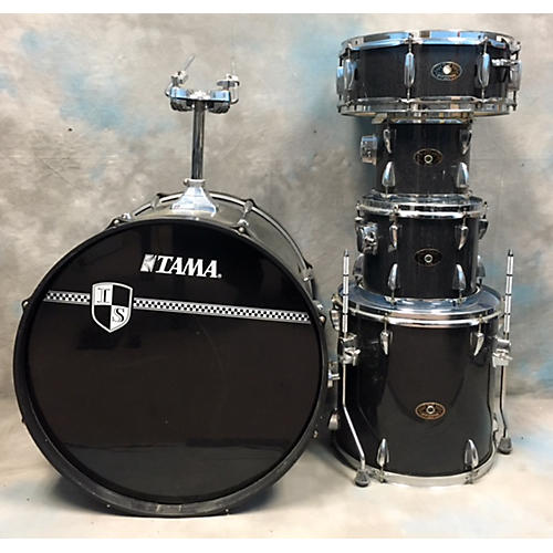 Tama Imperialstar Drum Kit Silver Sparkle