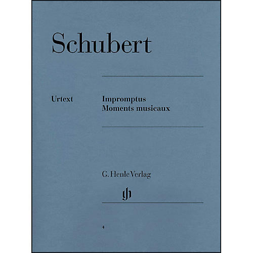 G. Henle Verlag Impromptus And Moments Musicaux By Schubert-thumbnail
