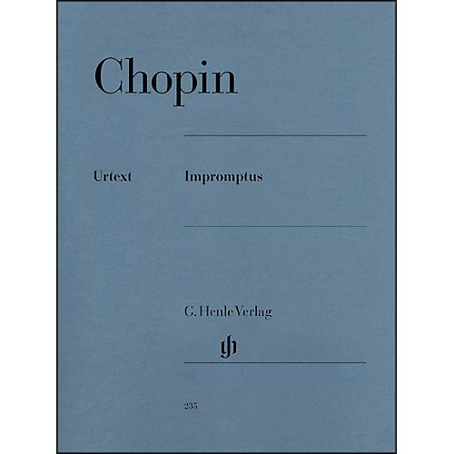 G. Henle Verlag Impromptus By Chopin / Zimmermann