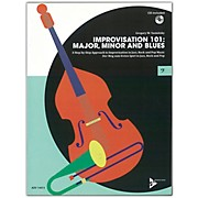 ADVANCE MUSIC Improvisation 101: Major, Minor, and Blues Bass Instruments Book & CD
