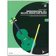 ADVANCE MUSIC Improvisation 101: Major, Minor, and Blues C Instruments Book & CD