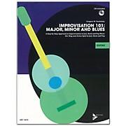 ADVANCE MUSIC Improvisation 101: Major, Minor, and Blues Guitar Book & CD