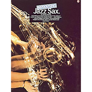 Music Sales Improvising Jazz Sax Music Sales America Series Book Written by...