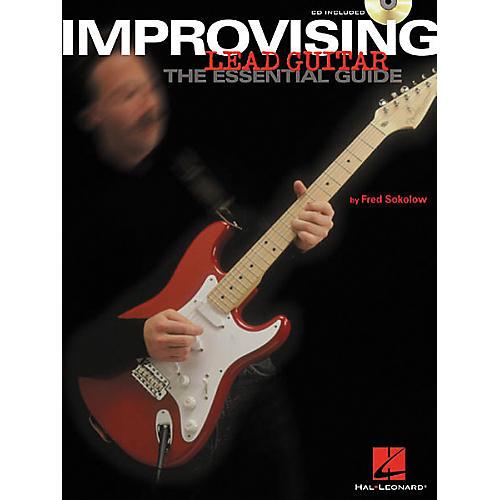 Hal Leonard Improvising Lead Guitar (Book/CD)-thumbnail