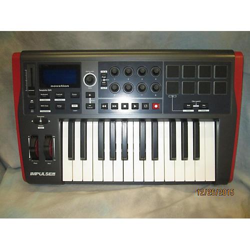 Novation Impulse 25 Key MIDI Controller-thumbnail