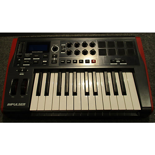 Novation Impulse 25 Key MIDI Controller