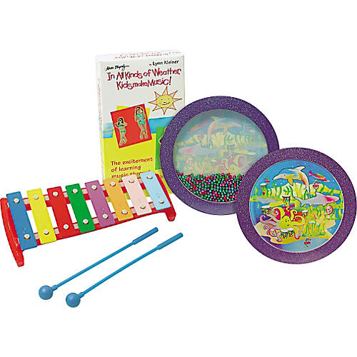 Rhythm Band In All Kinds of Weather Kids Make Music! Percussion Kit with Video