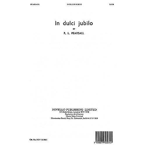 Novello In Dulci Jubilo SATB Composed by Robert Pearsall