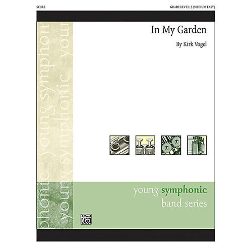 Alfred In My Garden Concert Band Grade 2 Set