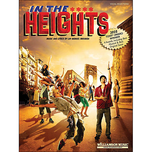 Hal Leonard In The Heights - Piano/Vocal Selections arranged for piano, vocal, and guitar (P/V/G)