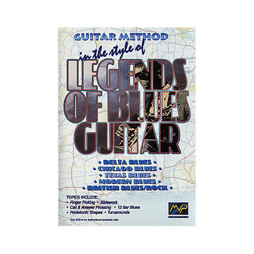MVP In The Style Of Legends of Blues Guitar (DVD)