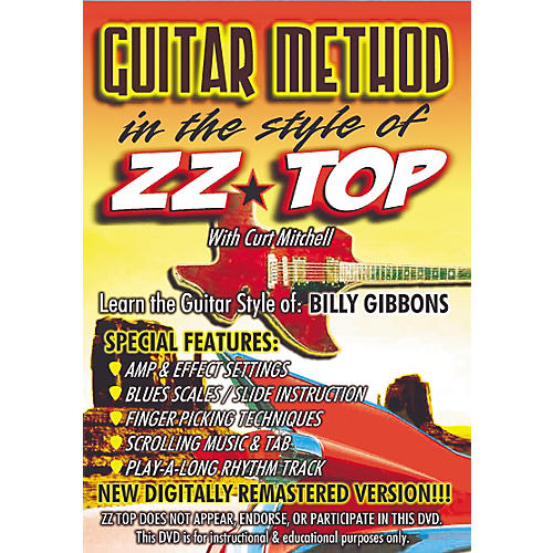 MVP In The Style of ZZ Top Guitar (DVD)