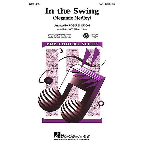 Hal Leonard In the Swing (Medley) SAB arranged by Roger Emerson