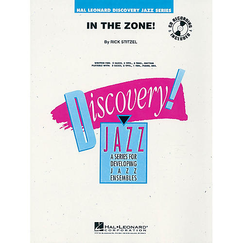 Hal Leonard In the Zone! Jazz Band Level 1-2 Composed by Rick Stitzel