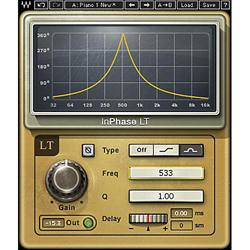 Waves InPhase LT TDM/SOUNInPhase LT Native/TDM/SG Software DownloadDGRID Phase Correction Plug-In-thumbnail