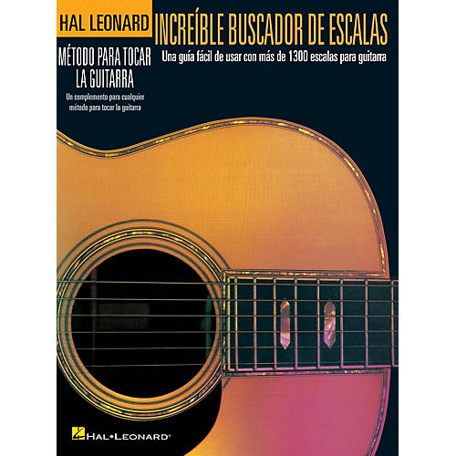 Hal Leonard Incredible Scale Finder - Spanish Edition Guitar Method Series Softcover Written by Various