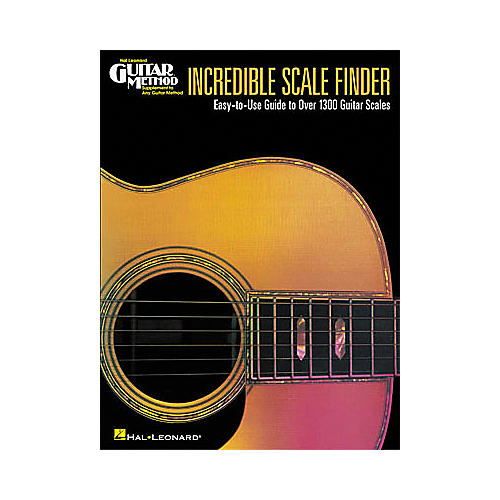 Hal Leonard Incredible Scale Finder Book