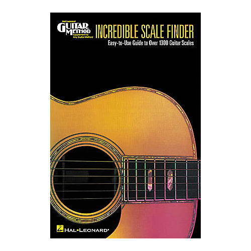 Hal Leonard Incredible Scale Finder Book-thumbnail