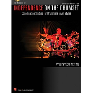 Hal Leonard Independence on the Drumset Drum Instruction Series Softcover w...