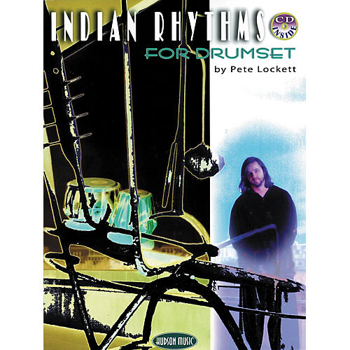 Hudson Music Indian Rhythms for Drumset by Pete Lockett (Book/CD)-thumbnail