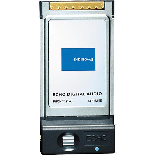 Echo Indigo DJ Dual Stereo 24/96 PCMCIA Output Card-thumbnail