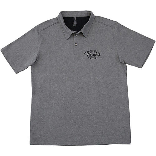 Fender Industrial Polo Large Gray