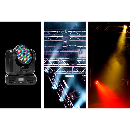 American DJ Inno Color Beam LED Moving-Head Lighting Effect-thumbnail