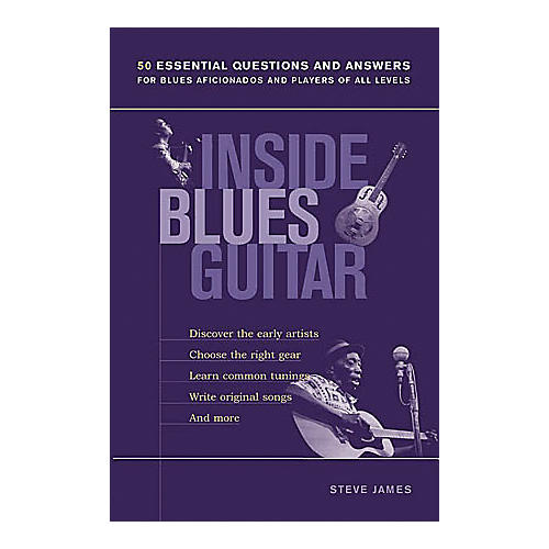 String Letter Publishing Inside Blues Guitar Book-thumbnail