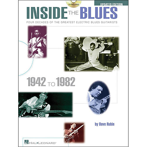 Hal Leonard Inside The Blues 1942-1982 Book/CD Updated Edition-thumbnail