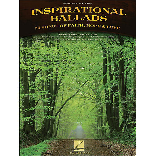 Hal Leonard Inspirational Ballads arranged for piano, vocal, and guitar (P/V/G)-thumbnail