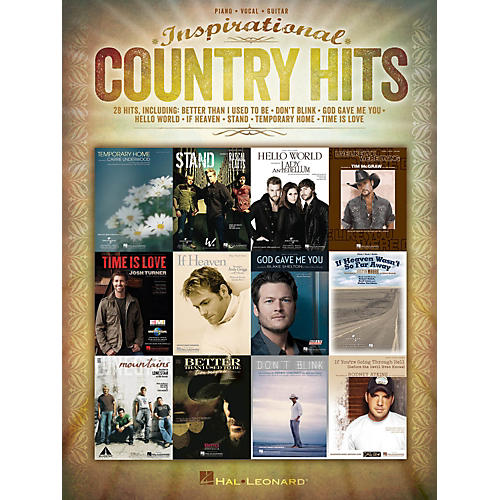 Hal Leonard Inspirational Country Hits for Piano/Vocal/Guitar-thumbnail
