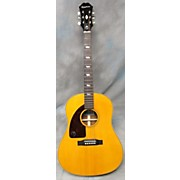 Epiphone Inspired By 1964 Texan Left Handed Acoustic Electric Guitar