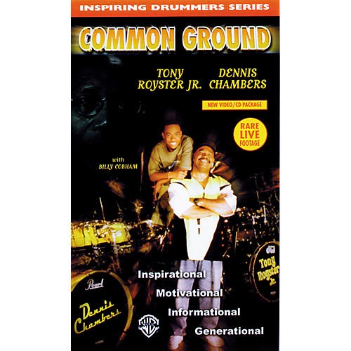 Warner Bros Inspiring Drummers Series - Common Ground Video/CD-thumbnail