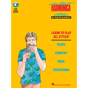 Hal Leonard Instant Harmonica Book/CD by Hal Leonard