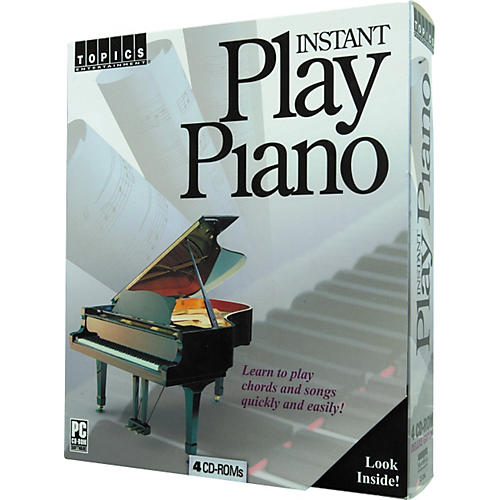 Topics Entertainment Instant Play Piano (CD-ROM)