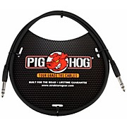 "Pig Hog Instrument Cable 1/4"" TRS to 1/4"" TRS (3 ft.)"