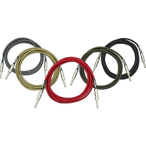 DiMarzio Instrument Cable Vintage Tweed 10 ft.