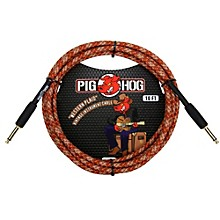 """Pig Hog Instrument Cable Western Plaid 1/4"""" to 1/4"""" (10 ft.)"""