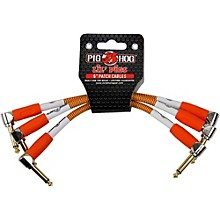 Pig Hog Instrument Cables Lil Pigs 6 in. Patch Cables (3-Pack)