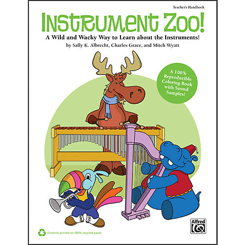 Alfred Instrument Zoo! Book & CD-thumbnail