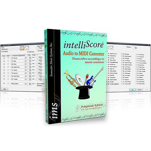 Innovative Music Systems IntelliScore Ensemble Audio to MIDI Converter Software Download
