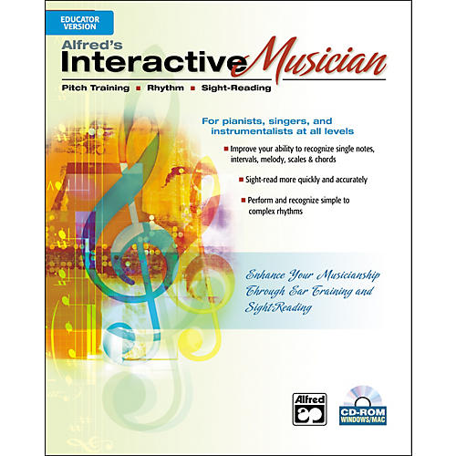 Alfred Interactive Musician Educator Version (CD-ROM)-thumbnail