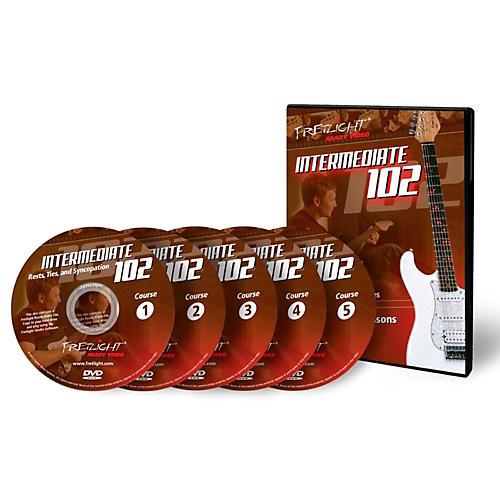 Fretlight Intermediate 102 Course - Video Lessons - Intermediate 102 Course Set (5 Disc)-thumbnail