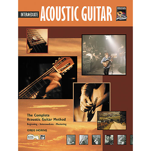 Alfred Intermediate Acoustic Guitar (Book/CD)-thumbnail