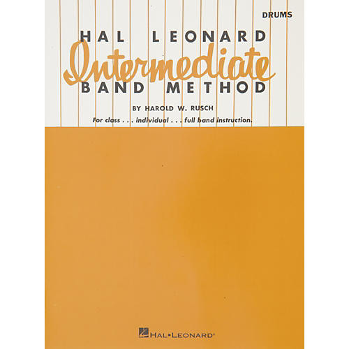 Hal Leonard Intermediate Band Method - Drums